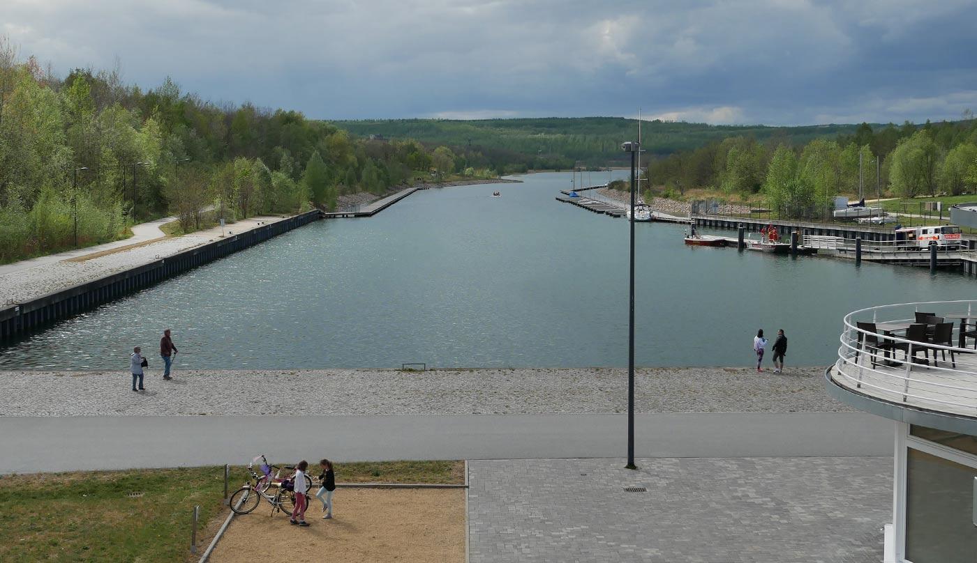 Hafen Berzdorfer See