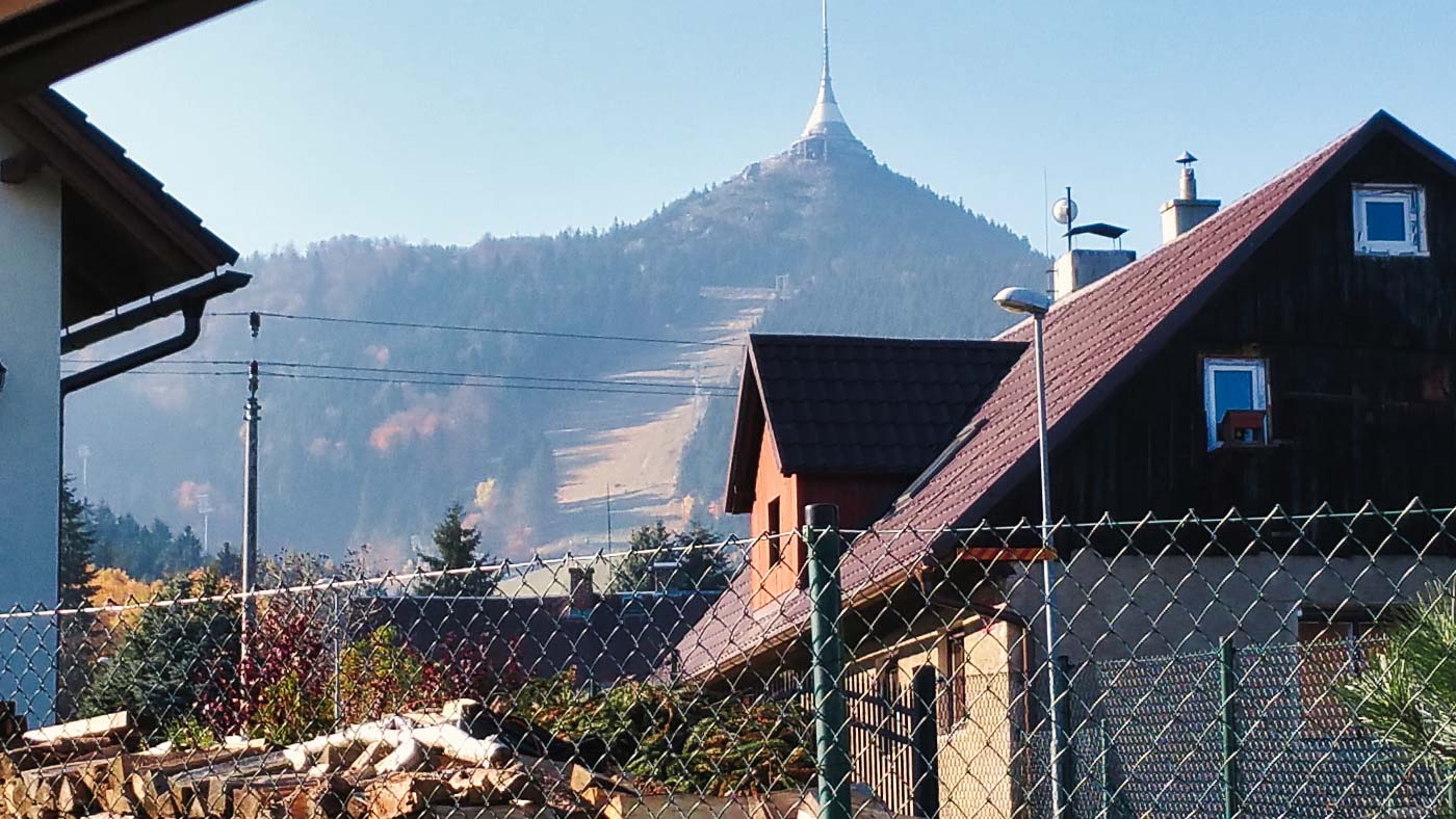 Jeschken Liberec Isergebirge Berg