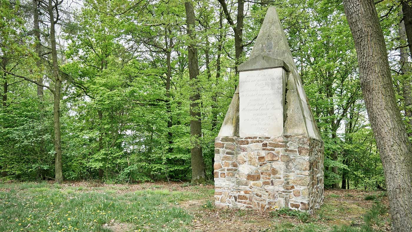 Johann Karl Adolf Monument Monumentberg