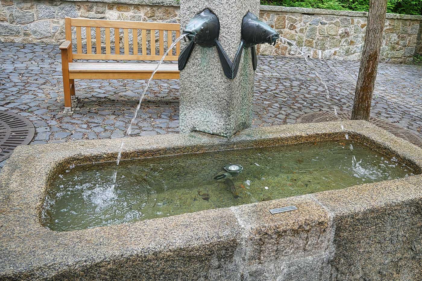 Karpfengrund Brunnen Goerlitz