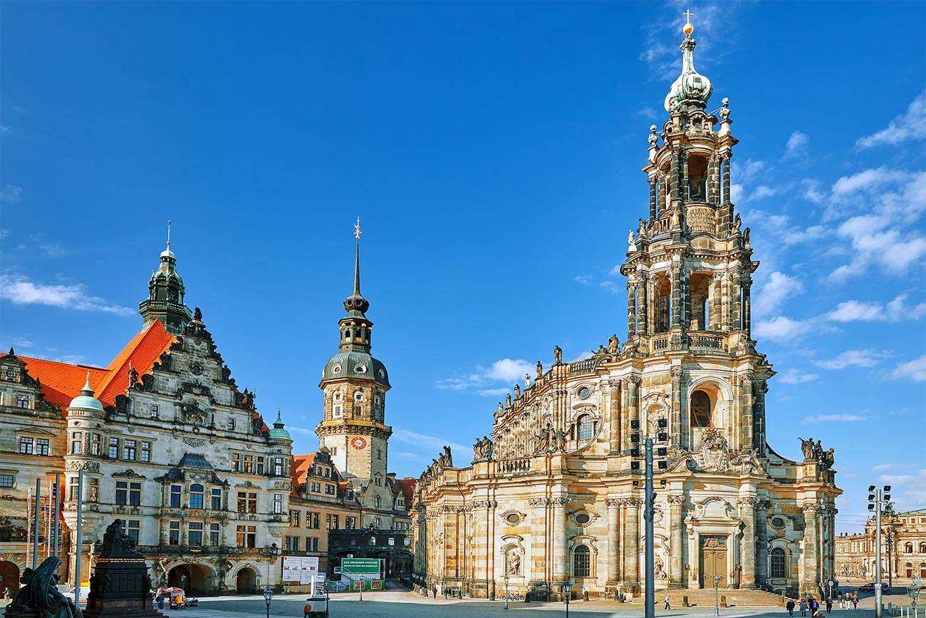 Kathedrale St. Trinitatis Dresden