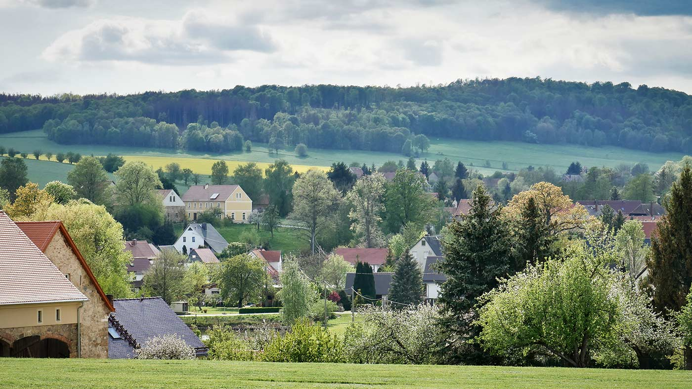 Koenigshain Dorf Unterdorf