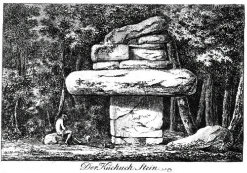 Kuckuckstein 1780 von Carl Adolph Gottlob von Schachmann