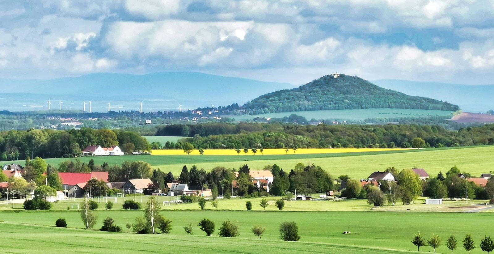 Landeskrone in Goerlitz Ansicht