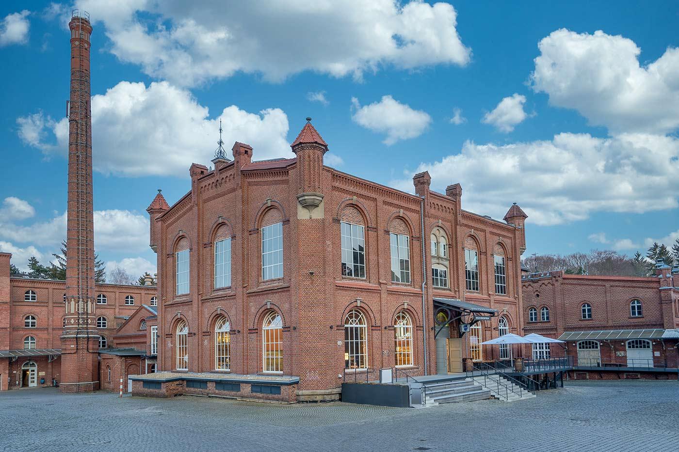Landskron Brauerei Eingang Leda