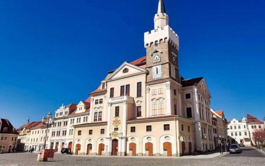 Rathaus am Altmarkt Löbau