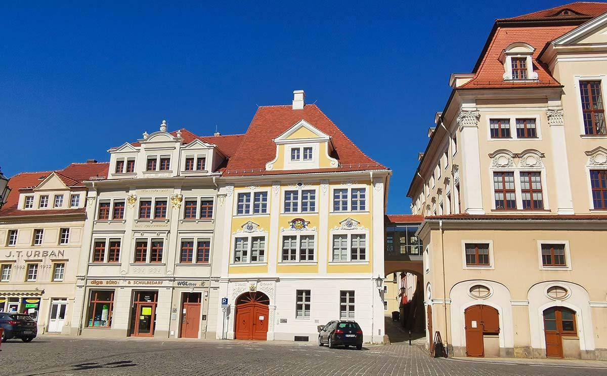 Loebau Stadtmitte