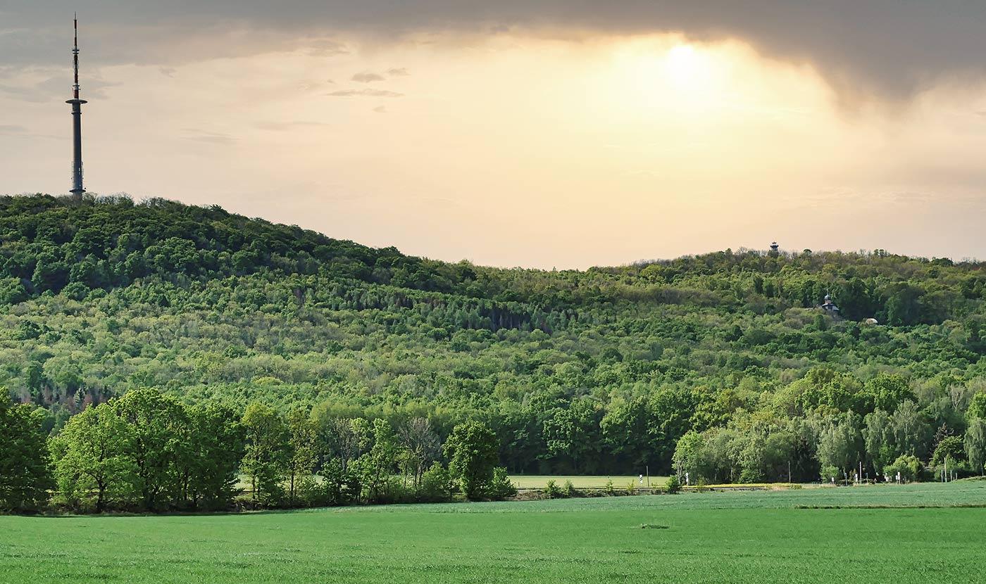Loebauer Berg Ansicht unten