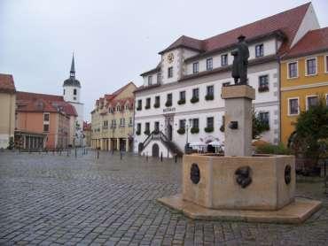 Marktplatz Hoyerswerda e1589267071582