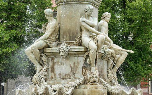 Muschelminna Brunnen Goerlitz
