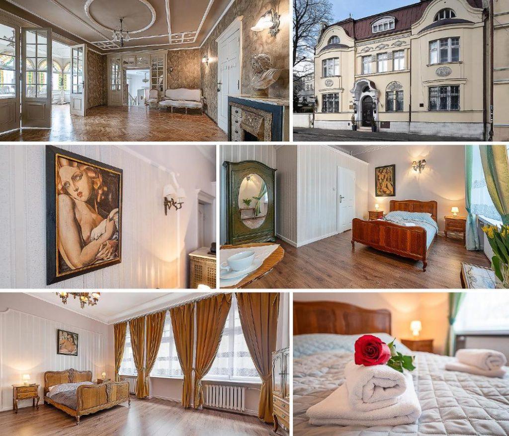 Palacyk Deja Vu Residence Hotel Lodz Zentrum