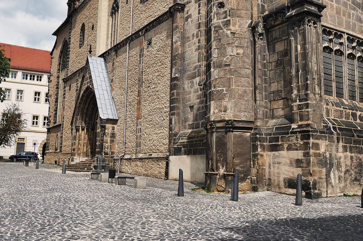 Peterskirche Seite