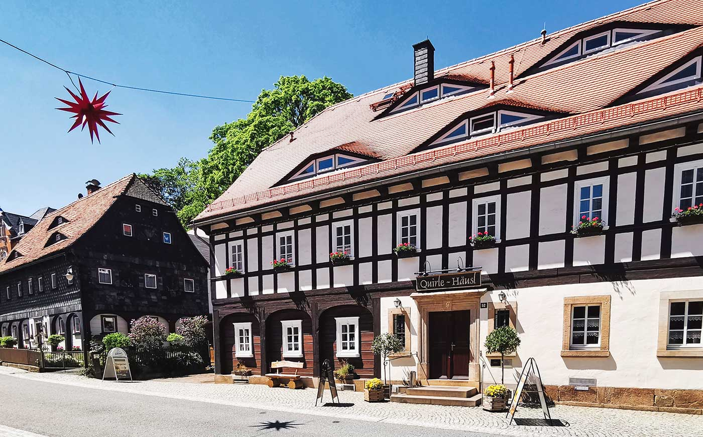 Quirle Haus Umgebindehaus