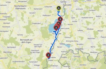 Radtour von Goerlitz zum Kloster Marienthal