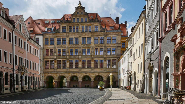 Rathaus auf dem Untermarkt Görlitz