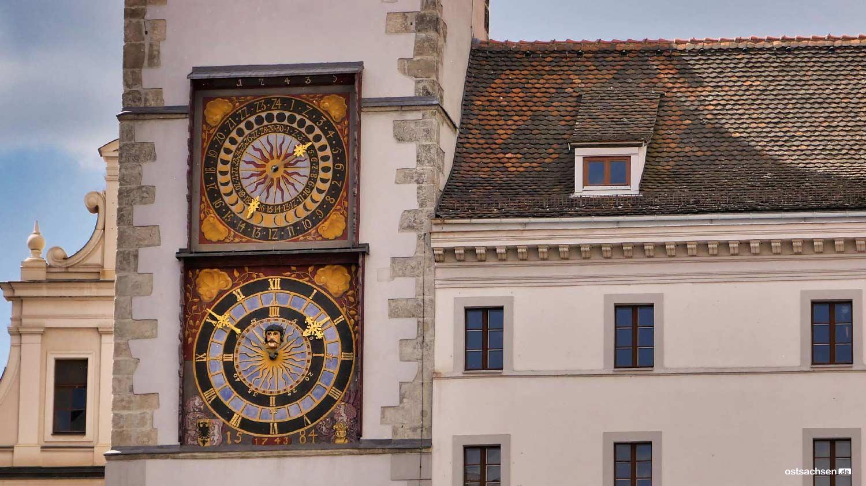 Rathaus Uhren Goerlitz