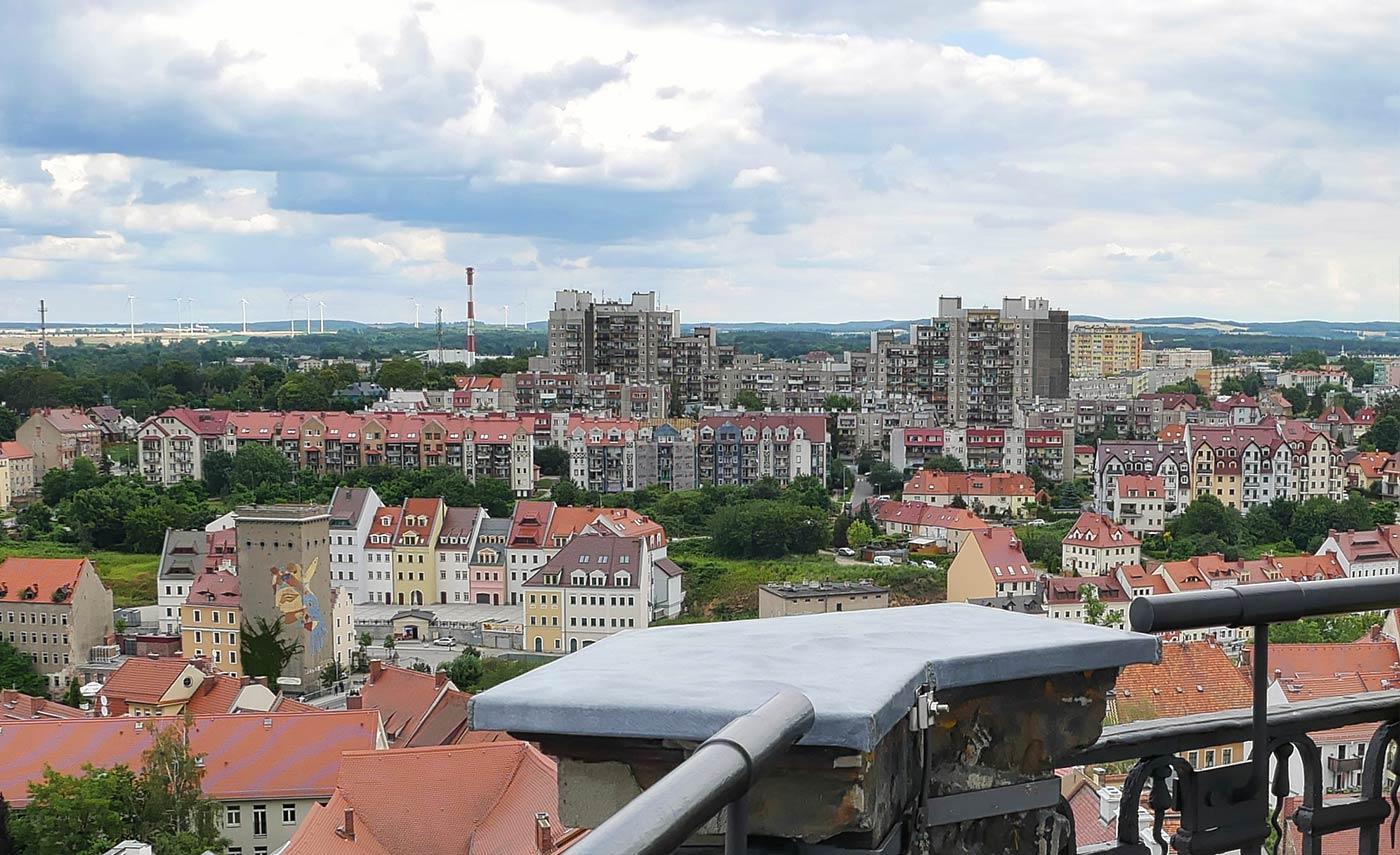 Rathausturm Blick auf zgorzelec