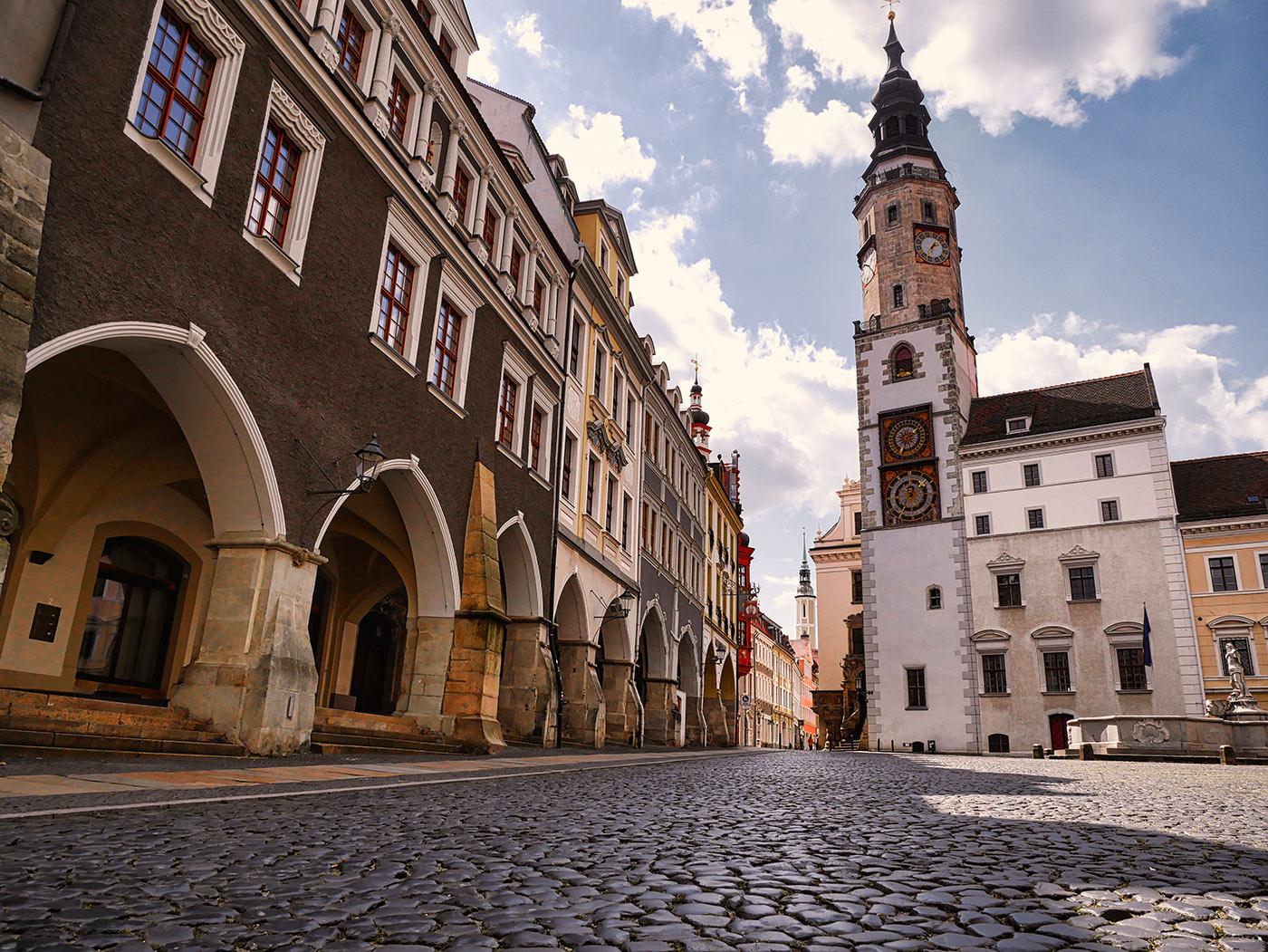 Rathausturm Untermarkt Goerlitz