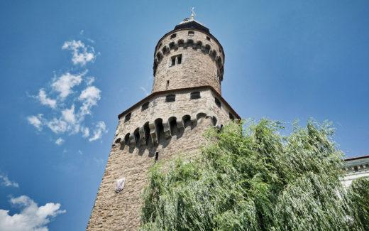 Reichenbacher Turm von unten
