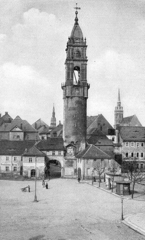 Reichenturm ca.1900