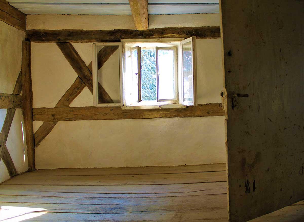 Restaurierung Umgebinde Innen
