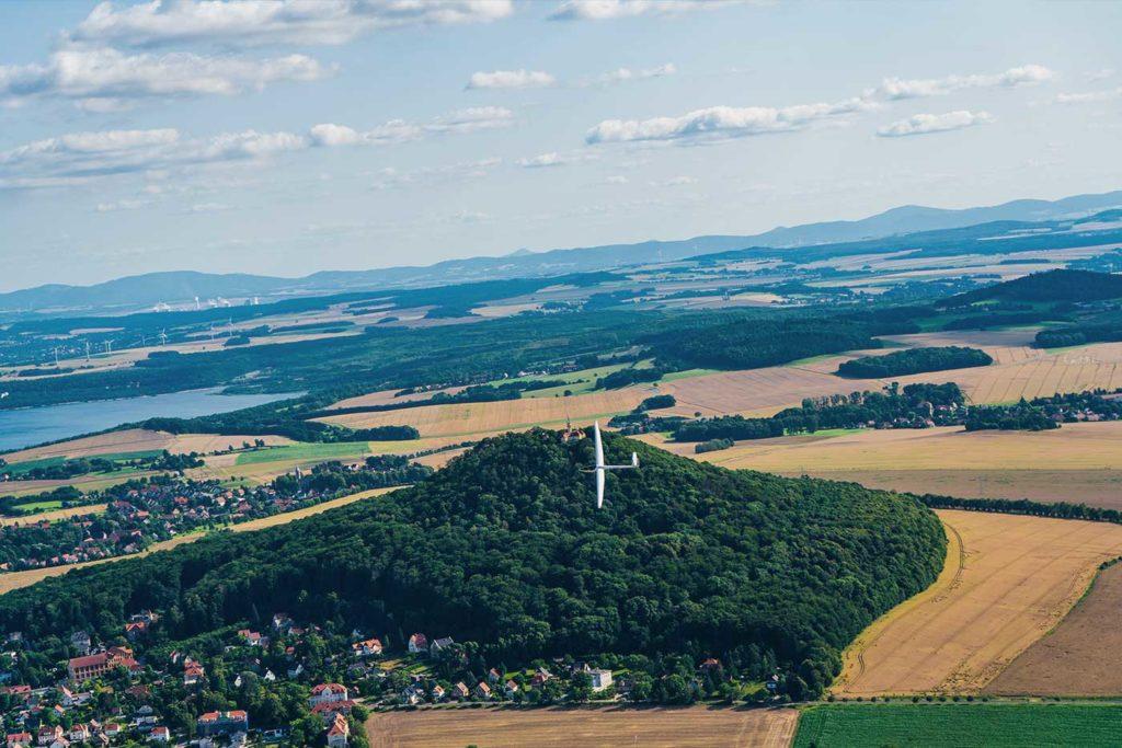 Rundflug Goerlitz Landeskrone Berzdorfer See