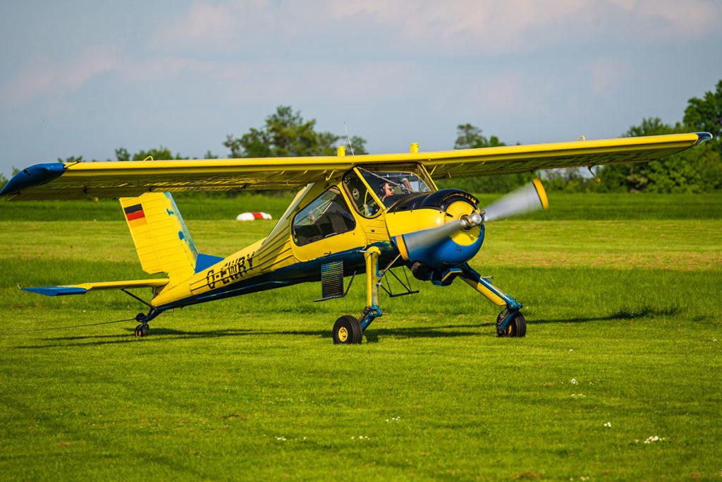 Motorflugzeug Rundflug über Görlitz