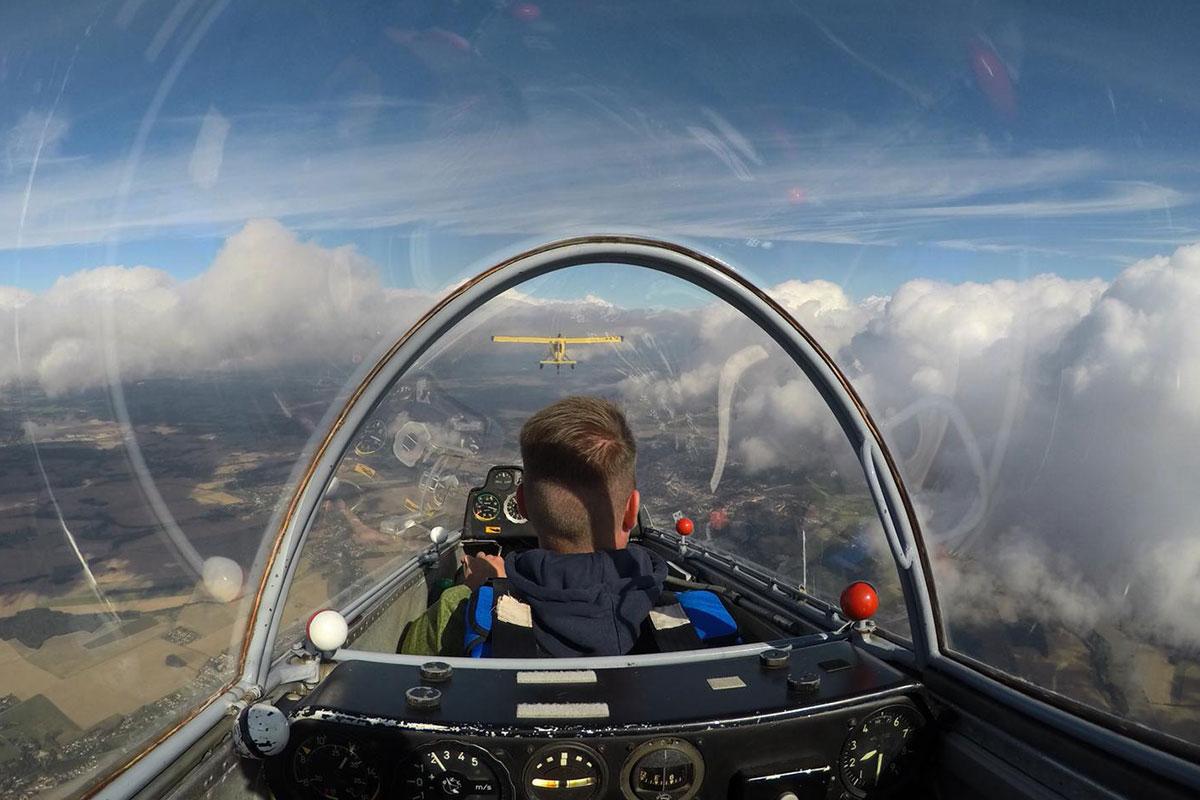 Rundflug Goerlitz Segelflugzeug Aussicht