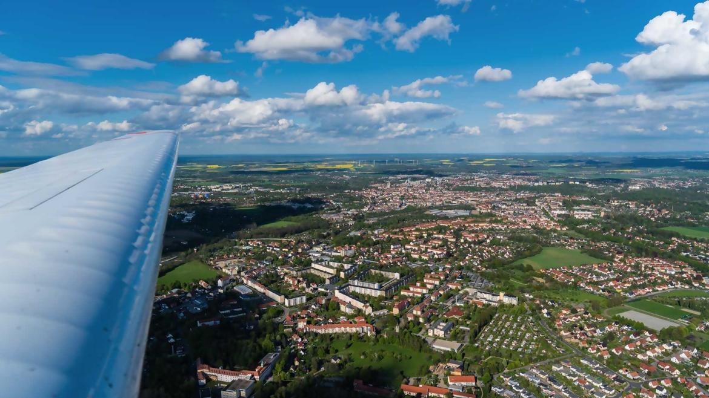 Rundflug über Görlitz
