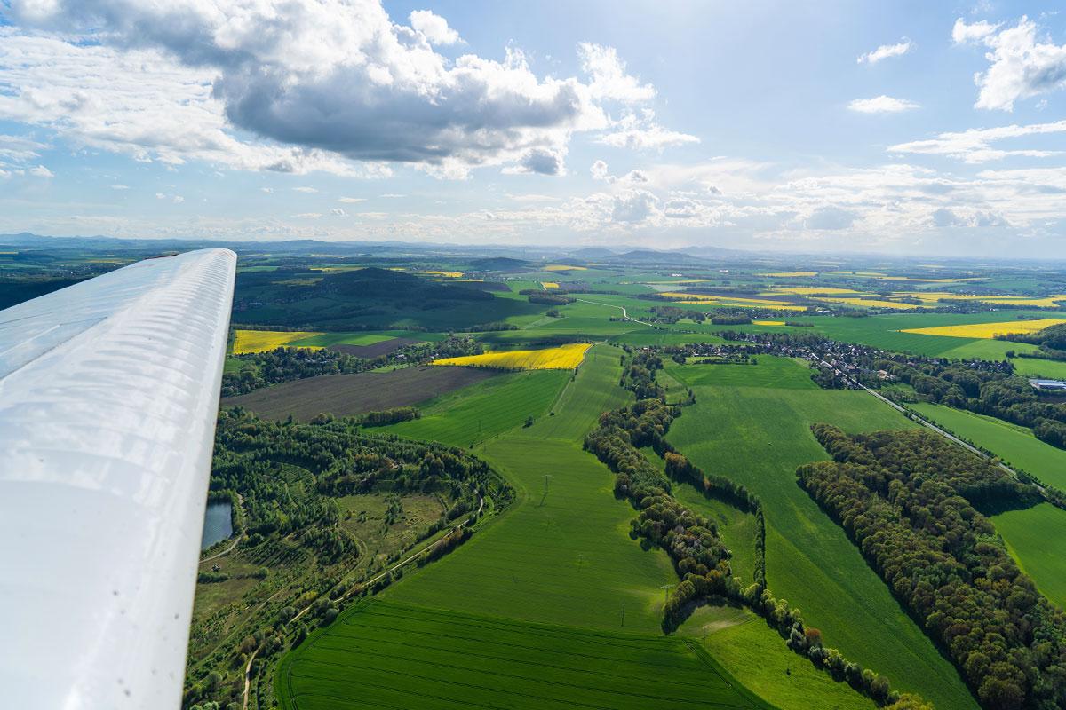 Rundflug Oberlausitz