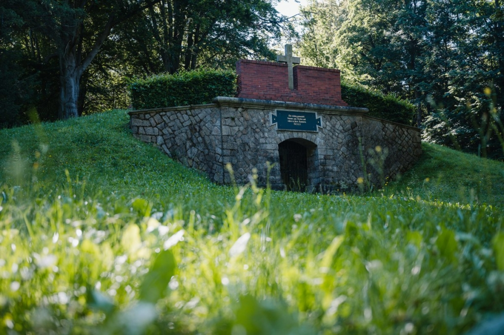 Schloss Krobnitz Gruft