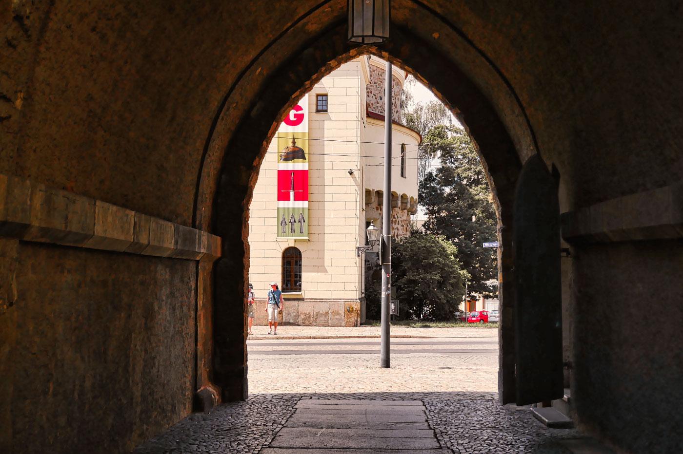 Torbogen Reichenbacher Turm