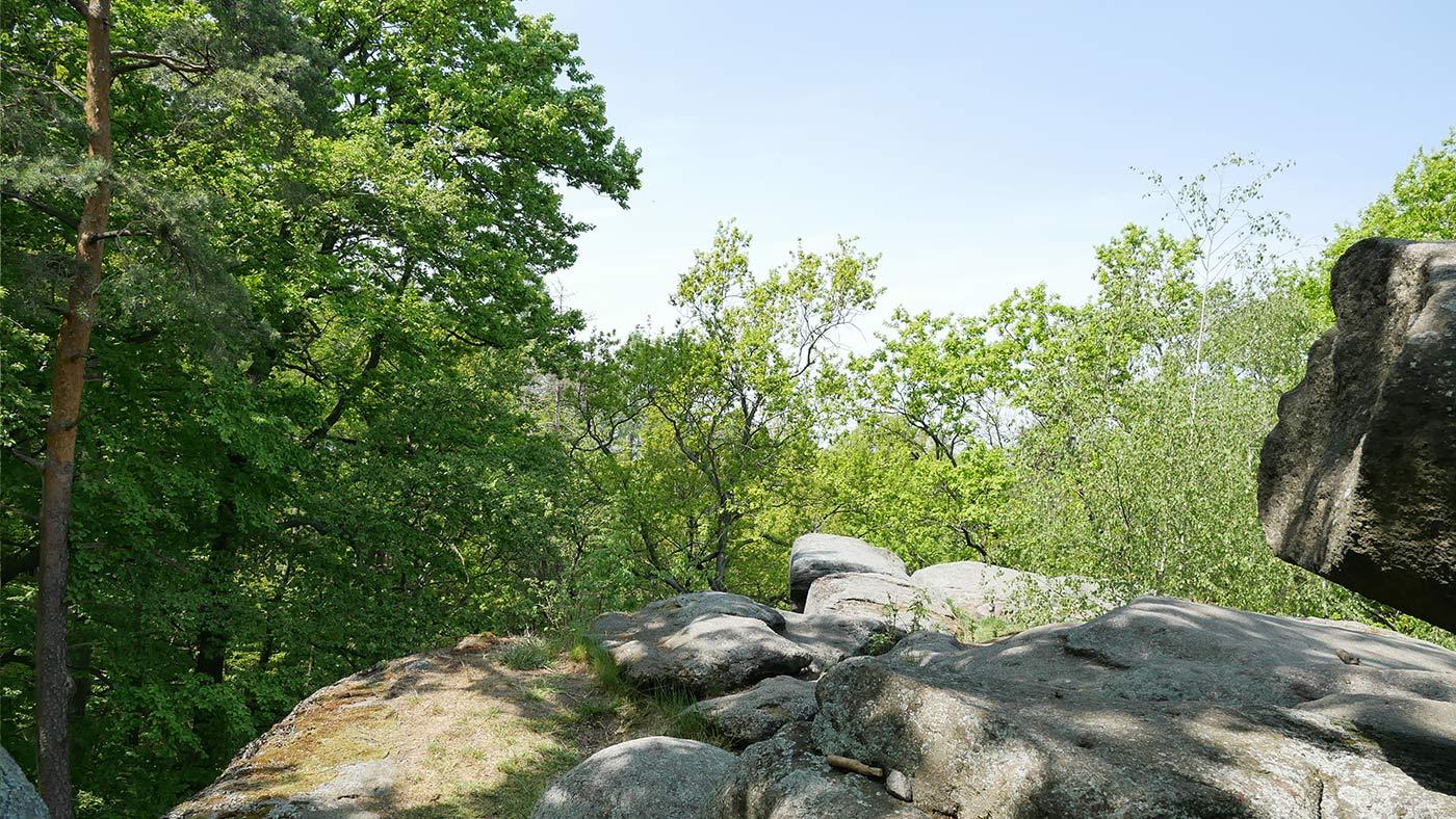 Totenstein Felsen Aussicht
