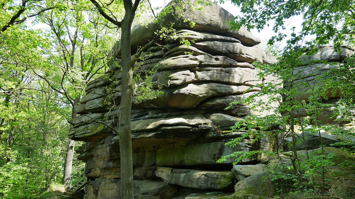 Totenstein Felsen