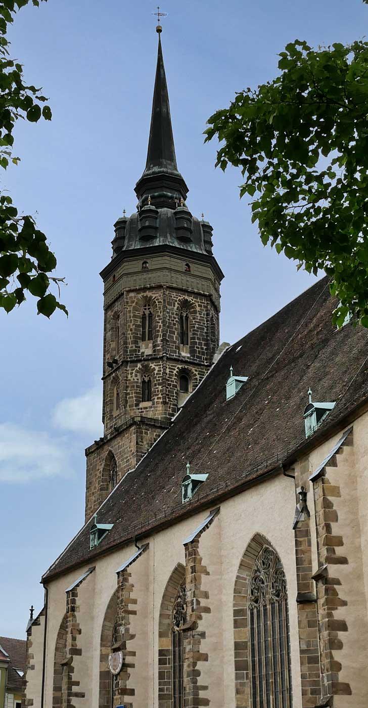 Tuerme Dom Stant Petri in Bautzen