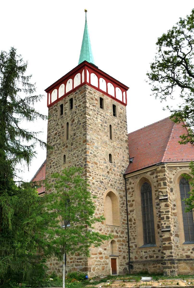 Tuerme Michaeliskirche in Bautzen