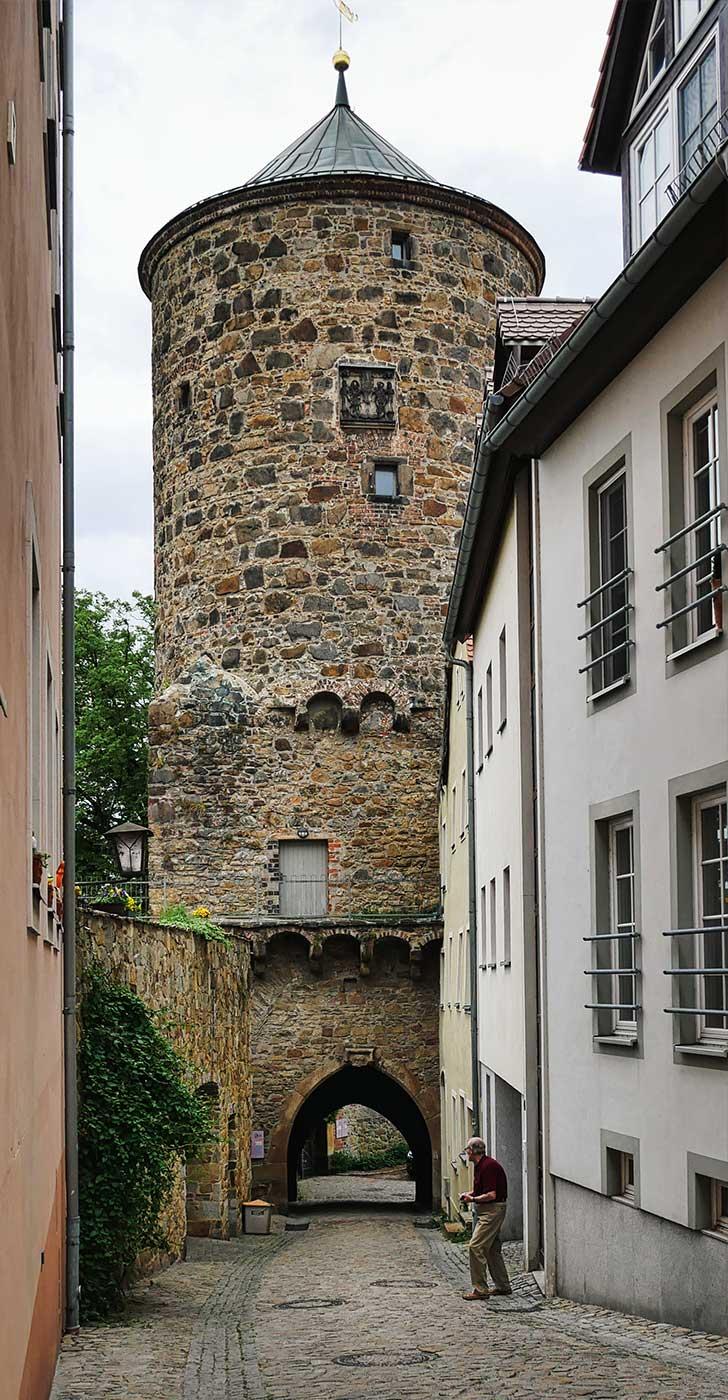 Tuerme Nicolaiturm Bautzen