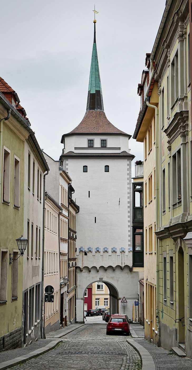 Tuerme Schuelerturm Zwingerzugang Bautzen