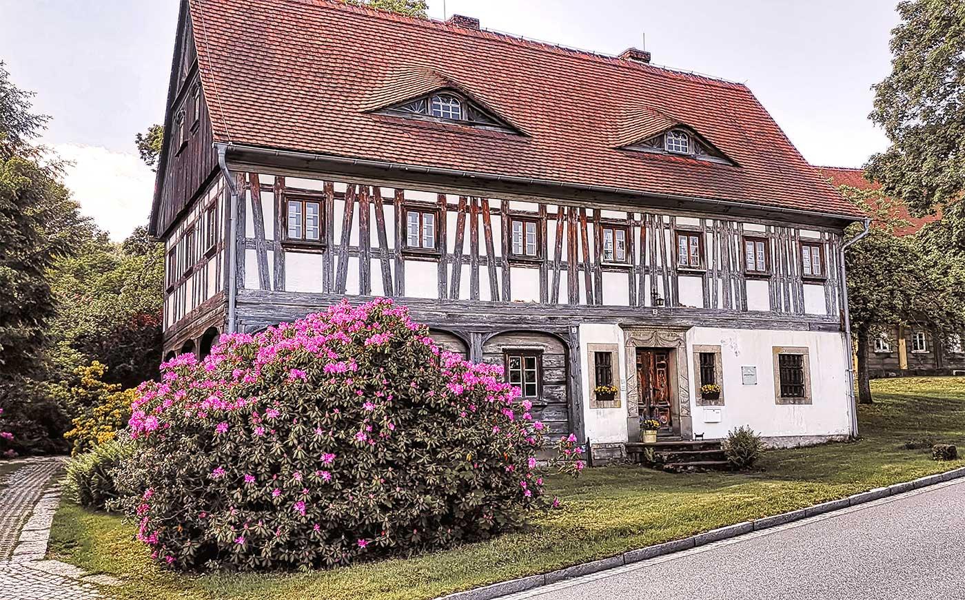 Umgebindehaus kurort jonsdorf