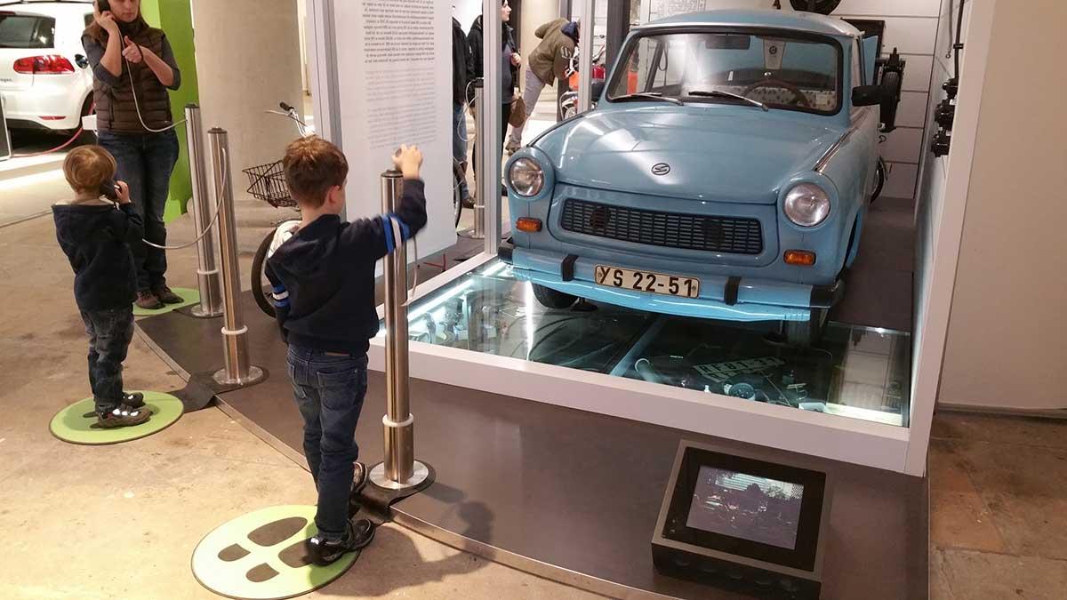 Verkehrsmuseum in Dresden mit Kindern