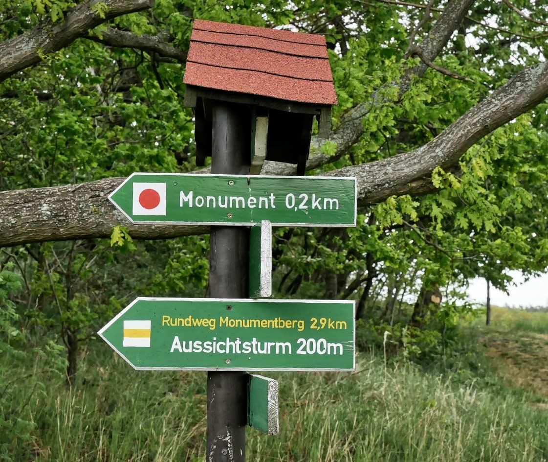 Wanderwege Monumentberg