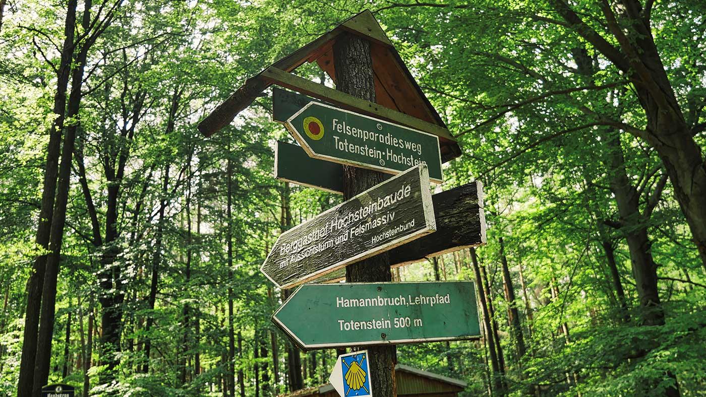 Wanderziele Koenigshainer Berge