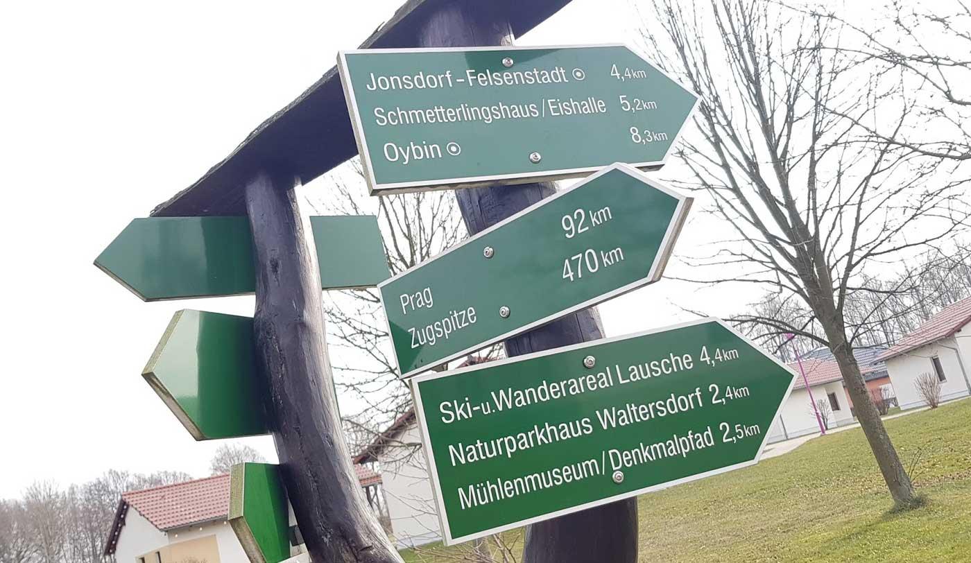 Ziele im Zittauer Gebirge