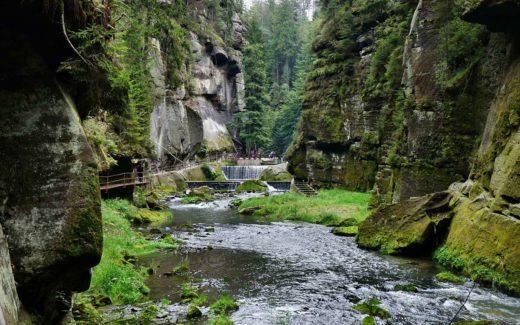 Wanderkarte Böhmischen Schweiz