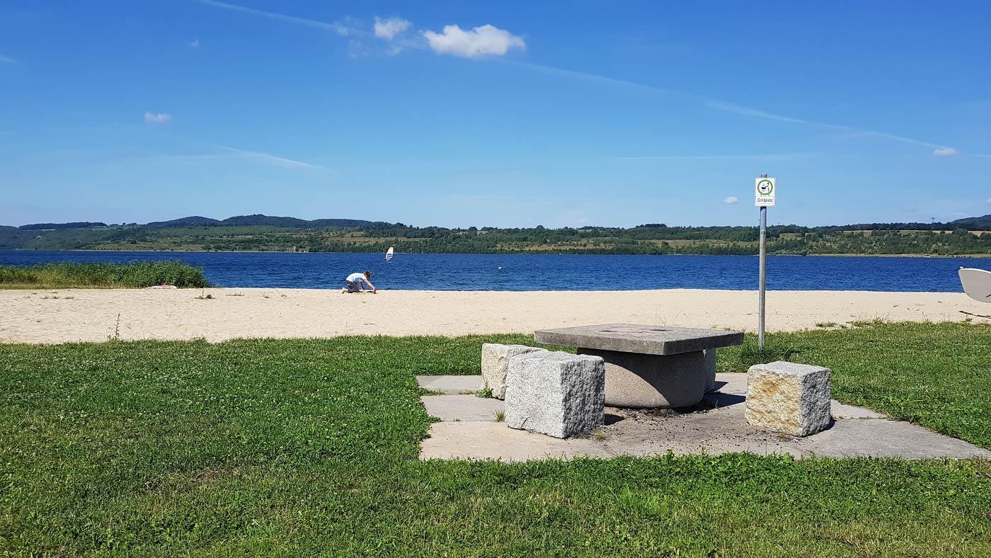 Picknicken am Norstrand Berzdorfer See