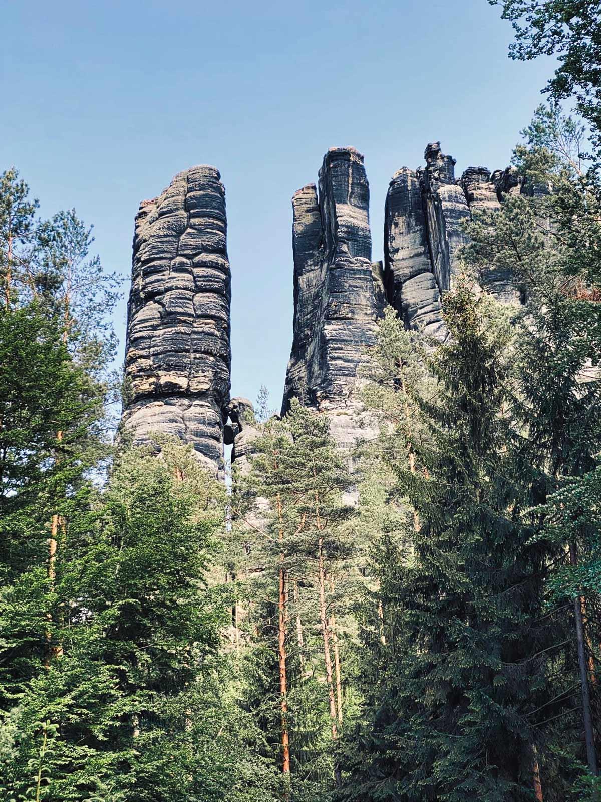 saechsische schweiz elbsandsteingebirge 10