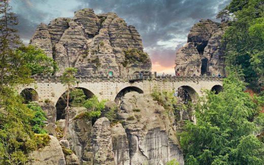 saechsische schweiz elbsandsteingebirge wandern
