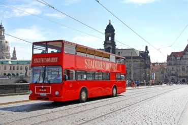 Stadtrundfahrt in Dresden